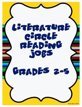 Literature Circle Reading Jobs