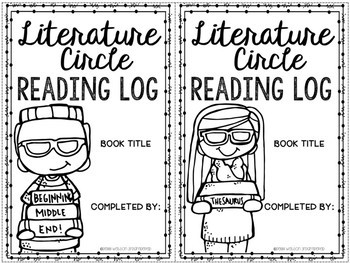 Literature Circle Reading Log FREEBIE