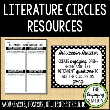 Literature Circle Resources
