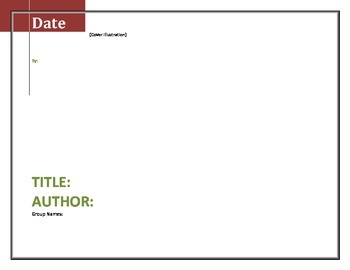 Literature Circle Response Common Core