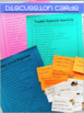 Literature Circle Response Forms, Projects, Discussion Cards, and More!
