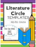 Literature Circle Response Templates for ANY Novel