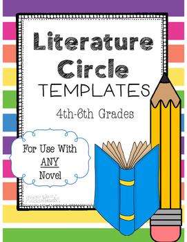 Literature Circle Response Templates for ANY Novel