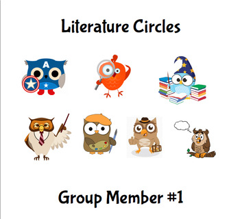 Literature Circle Role Packets