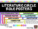 Literature Circle Role Posters