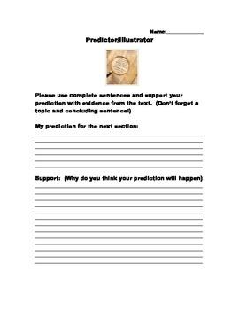 Literature Circle Role:  Predictor/Illustrator