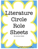 Literature Circle Role Sheets (6 Roles)