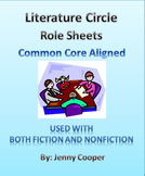 Literature Circle Role Sheets - Common Core Aligned
