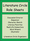 Literature Circle Role Sheets (Editable)