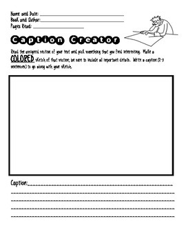 Literature Circle Role Sheets to use with Non-Fiction Texts