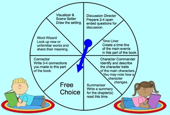 Literature Circle Role Spinner
