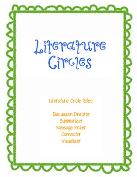 Literature Circle Roles Packet