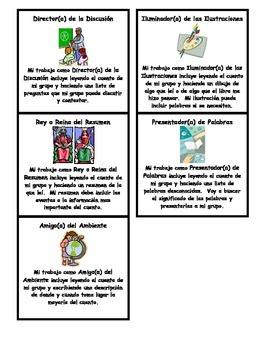 Literature Circle Roles (SPANISH)