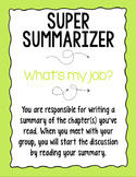 Literature Circle Roles to use with ANY text!