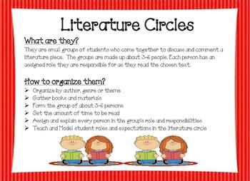 Literature Circle Start up