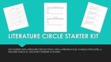 Literature Circle Starter Kit