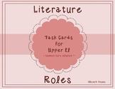 Literature Circle Task Cards & Poster Set