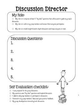 Literature Circle Task Forms
