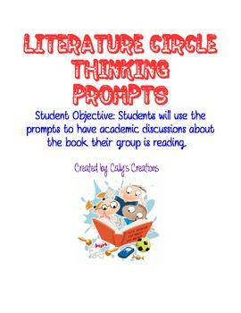 Literature Circle Question Stems