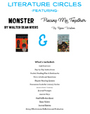 Literature Circle Unit - Piecing Me Together and Monster