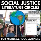 Literature Circles Unit   Middle School   Social Justice Novels   Activities