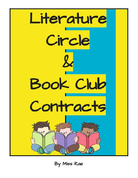 Literature Circle and Book Club Contracts