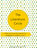 Literature Circle and their Roles *New Cover*