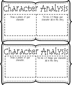 Literature Circle - character study