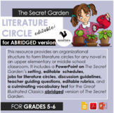 Literature Circle for The Secret Garden - abridged version