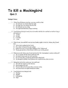 Literature Circle for To Kill a Mockingbird