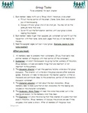 Literature Circle group worksheets