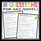NOVEL QUESTIONS: LITERATURE CIRCLES OR INDEPENDENT READING