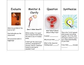 Literature Circle/Comprehension Bookmarks