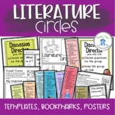 Literature Circles Posters Bookmarks and Templates