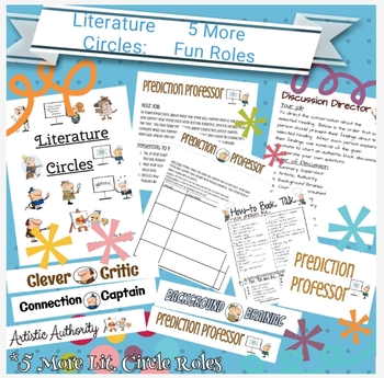 Literature Circles: 5 More Fun Roles