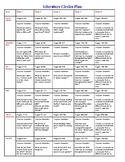 Literature Circles 5 Week Plan