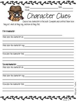 Literature Circles - A Complete Resource Packet