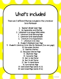 Literature Circles Binders for Students and Teachers