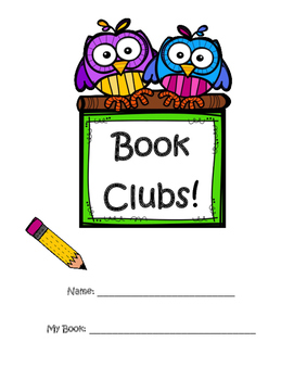 Literature Circles - Book Club Booklets for Students