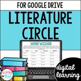 Literature Circles Book Club for Google Classroom DIGITAL
