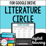 Literature Circles Book Club for Google Classroom DIGITAL
