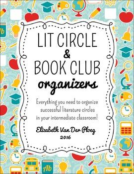 Literature Circles / Book Clubs Organizers - Organization Printables