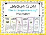 Literature Circles Bookmarks FREEBIE!