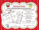 Literature Circles - Bookmarks, discussion cube, etc.