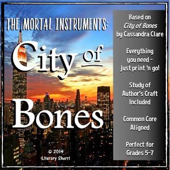 CITY OF BONES | Cassandra Clare | City of Bones Unit | City of Bones Lessons