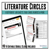 Literature Circles Complete Packet (includes Depth & Compl
