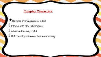 Literature Circles Complex Characters