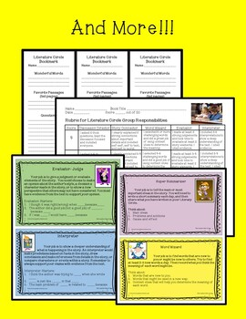 Literature Circles Everything You need to Get Started!