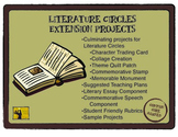 Literature Circles Extension Projects Pack