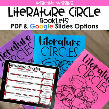 Literature Circle Booklets